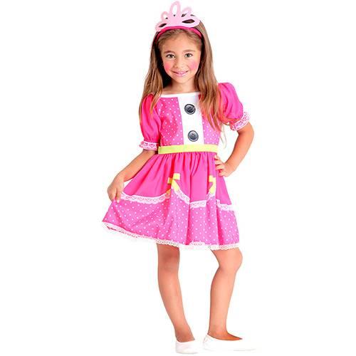 Fantasia Infantil Lalaloopsy Jewel Sparkles Pop - Sulamericana