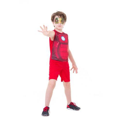 Fantasia Infantil - Marvel - Avengers - Iron-man Pop Clássico - Global Fantasias