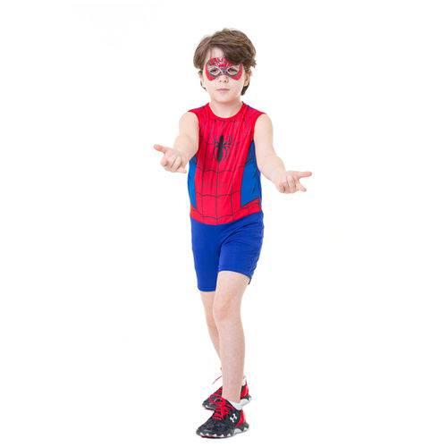 Fantasia Infantil - Marvel - Spider-man Pop Clássico - Global Fantasias