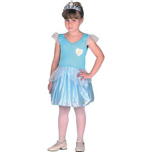 Fantasia Infantil Princesa Cinderela Tam. G Sulamericana