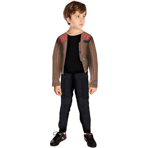 Fantasia Infantil Star Wars Finn Longa Standard - Rubies