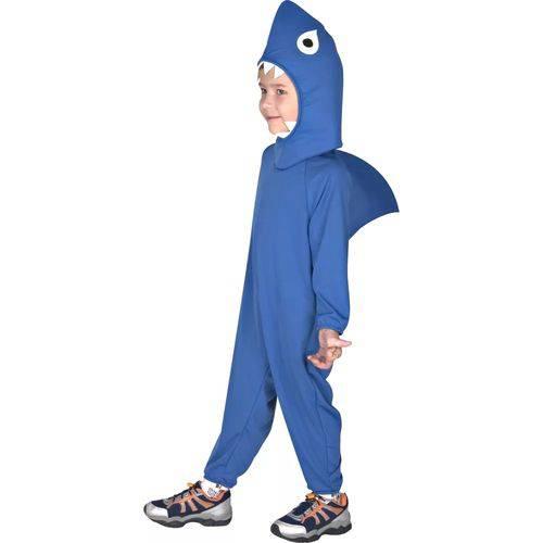 Fantasia Infantil Sulamericana Standard Tubarão Gg Azul