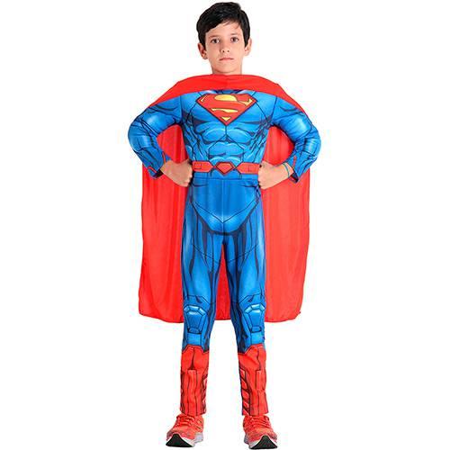 Fantasia Infantil Super Homem Premium Dc - Sulamericana