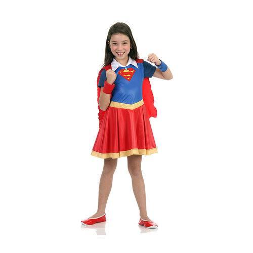 Fantasia Infantil Super Mulher Dc Super Hero Girls 22058 - Sulamericana - M