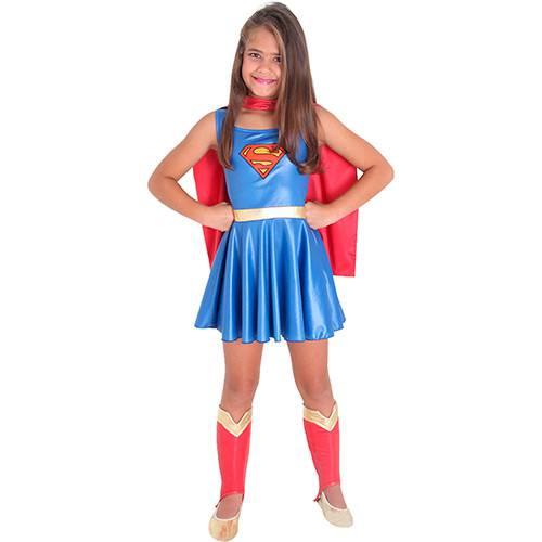 Fantasia Infantil Super Mulher - Sulamericana