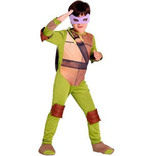 Fantasia Infantil Tartarugas N. Donatello - Sulamericana - TAMANHO P