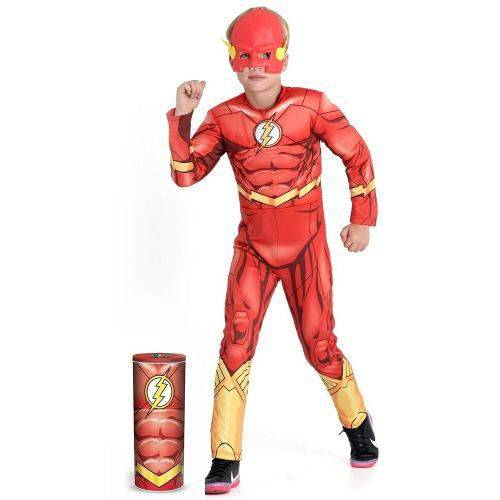 Fantasia Infantil The Flash Premium Dc - Sulamericana