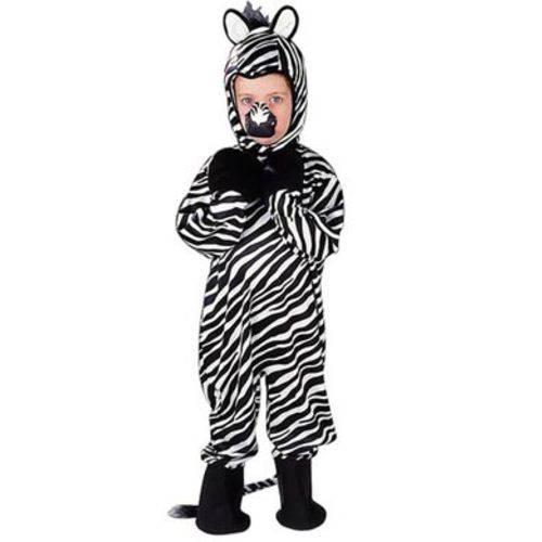 Fantasia Infantil Zebra – G
