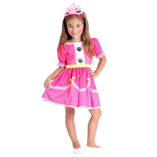 Fantasia Jewel Sparkles Infantil - Lalaloopsy PP