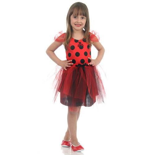 Fantasia Joaninha Infantil - Dress Up