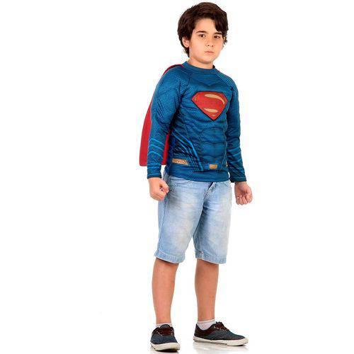 Fantasia Kit Super Homem / Superman Infantil - Batman Vs Superman