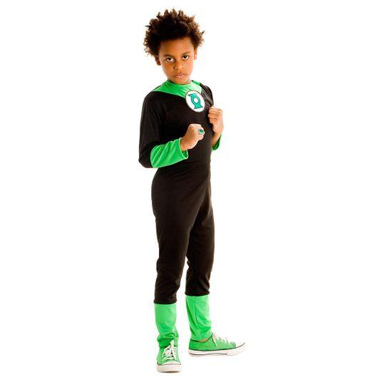 Fantasia Lanterna Verde Infantil Standard G