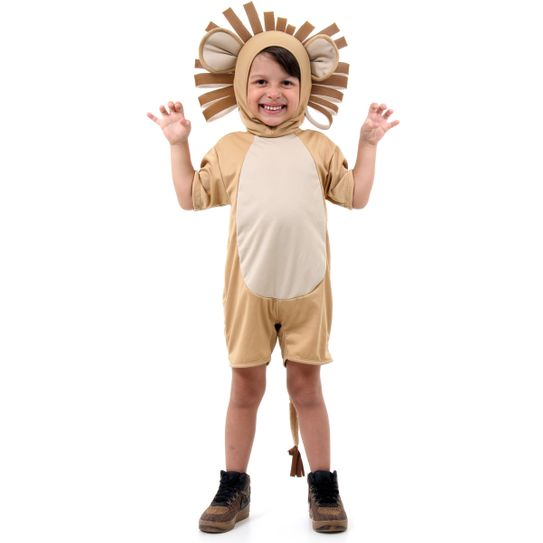 Fantasia Leão Infantil Curto G
