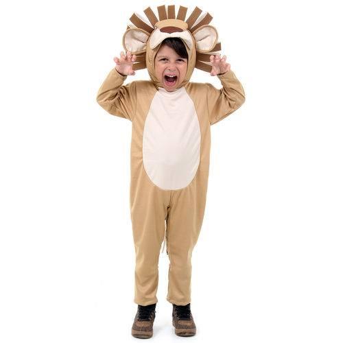 Fantasia Leão Infantil