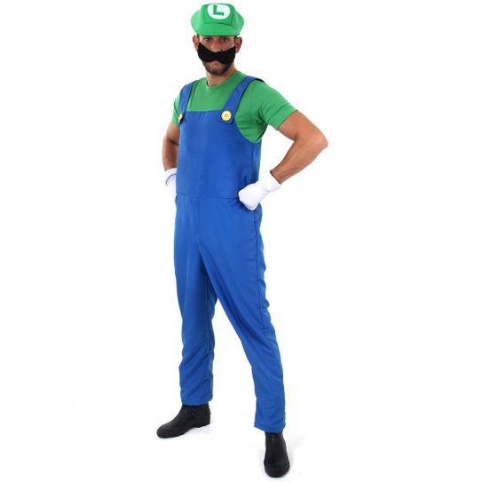Fantasia Luigi Adulto - Super Mario P