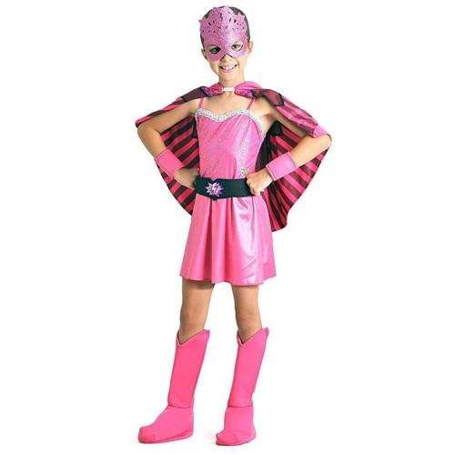 Fantasia Luxo Barbie Super Princesa M - Sulamericana