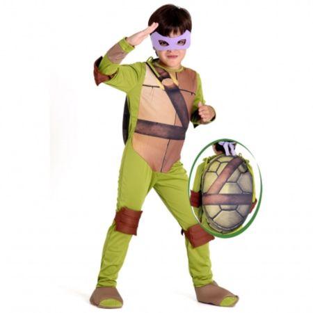 Fantasia Luxo Tartarugas Ninjas Donatello - M
