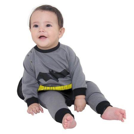 Fantasia Macacão Batman Bebê - P
