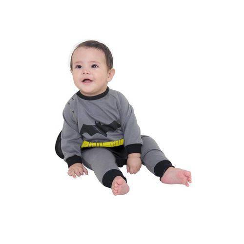 Fantasia Macacão Batman Bebê