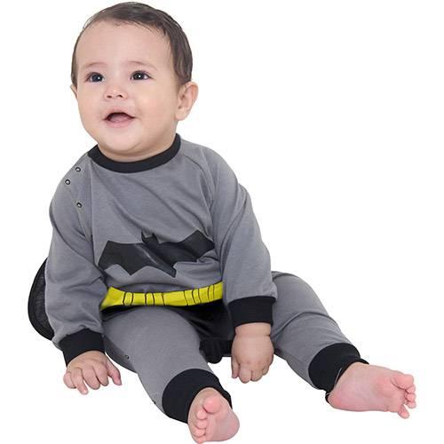Fantasia Macacão Batman - Tamanho P - Sulamericana
