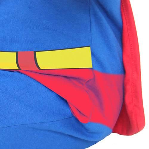 Fantasia Macacão Super-Homem - Tamanho G - Sulamericana