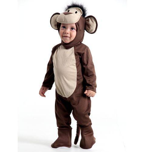 Fantasia Macaco Bebê P