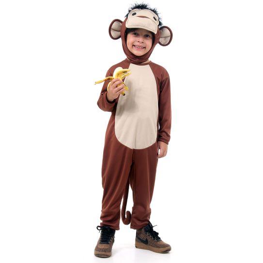 Fantasia Macaco Infantil P