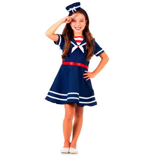 Fantasia Marinheira Infantil P