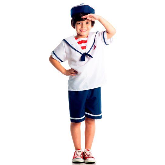 Fantasia Marinheiro Infantil M