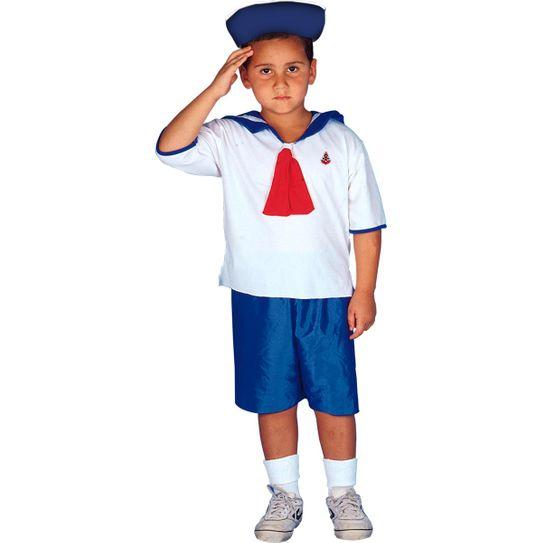Fantasia Marinheiro Infantil P