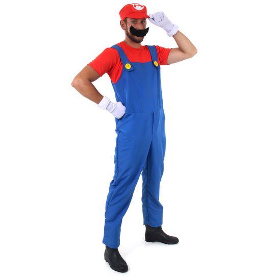 Fantasia Mario Adulto - Super Mario P