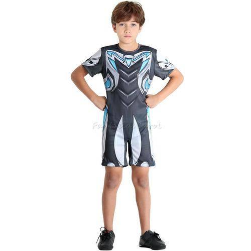 Fantasia Max Steel Infantil Curta Completa Sulamericana - G 9 - 12