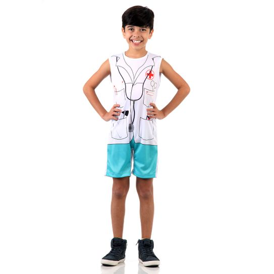 Fantasia Médico Infantil Super Pop M