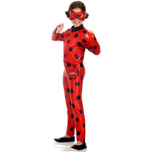 Fantasia Miraculous Ladybug Longa - Sulamericana
