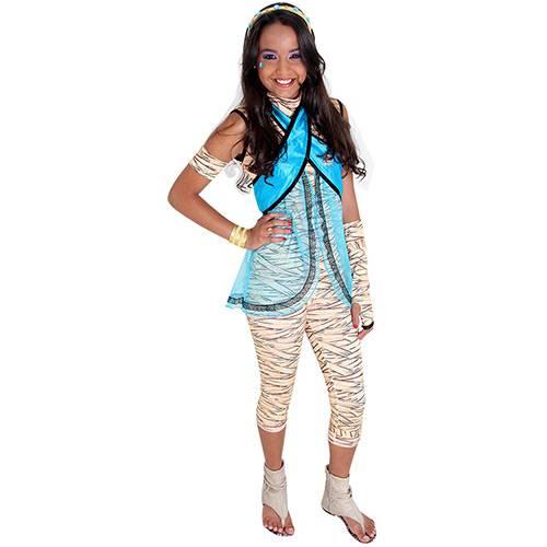 Fantasia Monster High Cleo de Nile Luxo Sulamericana Fantasias