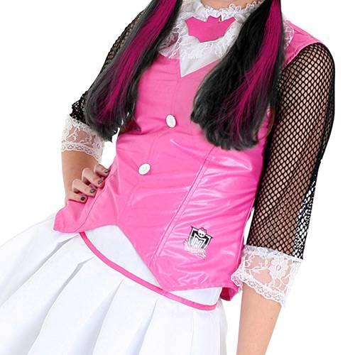 Fantasia Monster High Draculaura - Rosa - Tam M - Sulamericana