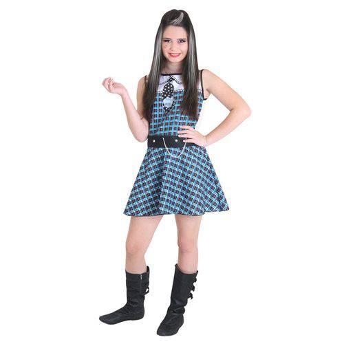 Fantasia Monster High - Frankie Stein Pop - Sulamericana