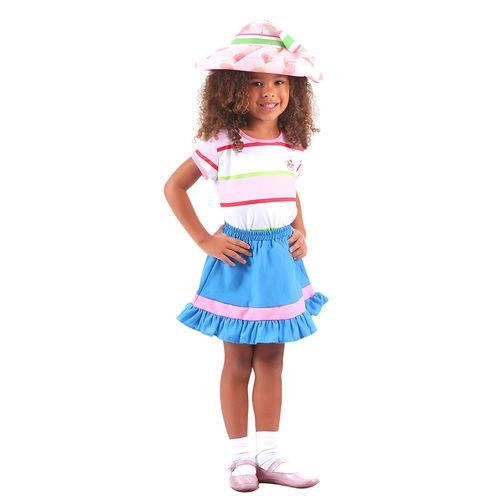 Fantasia Moranguinho Infantil Standard GG