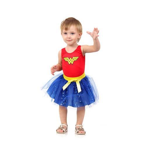 Fantasia Mulher Maravilha Dress Up Bebe 16315 - Sulamericana