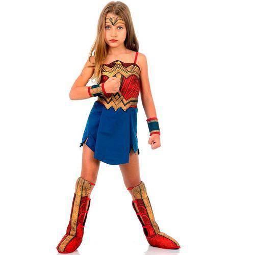 Fantasia Mulher Maravilha Infantil Luxo - Batman Vs Superman