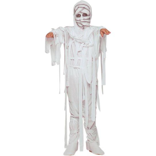 Fantasia Mumia Halloween Infantil P