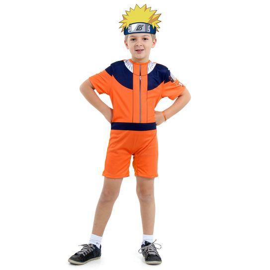 Fantasia Naruto Curto Infantil P
