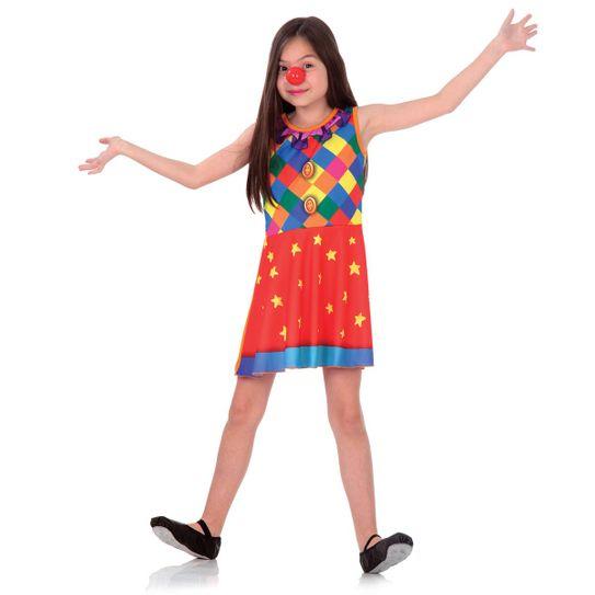Fantasia Palhacinha Infantil Super Pop P