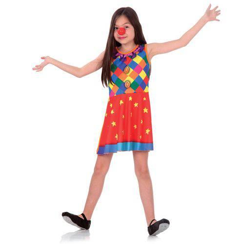Fantasia Palhacinha Infantil Super Pop