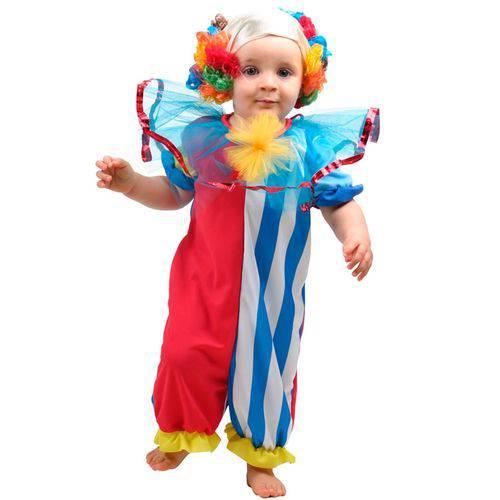 Fantasia Palhacinho(baby) Sulamericana Carnaval Original - P 0 - 1