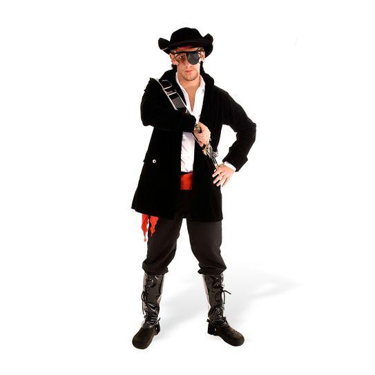 Fantasia Pirata Adulto Masculino Luxo P
