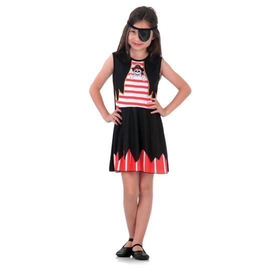 Fantasia Piratinha Infantil Super Pop P