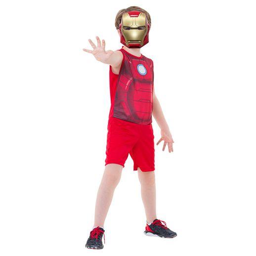 Fantasia Pop Regata Homem de Ferro P - Rubies