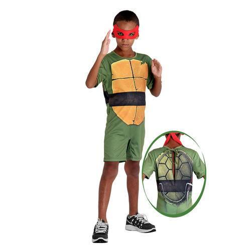 Fantasia Pop Tartarugas Ninja - Raphael - Sulamericana