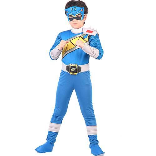 Fantasia Power Dino Super Charge Azul Luxo - G